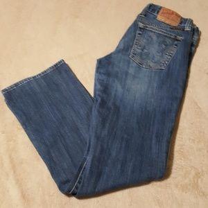 """Lucky Brand Jeans. Boot Cut. Size 6/28"""" Waist."""